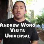 Andrew Wong visits Universal