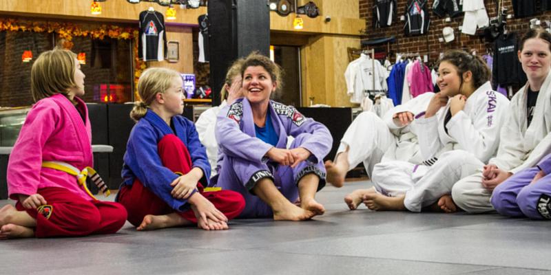 Women's Jiu Jitsu Classes in Camas
